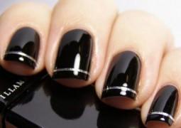 κομψές χιονονιφάδες, νύχια με μαύρα η χρυσά σχέδια, Minimal νύχια, παστέλ νύχια, glamour νύχια, τρισδιάστατα νύχια