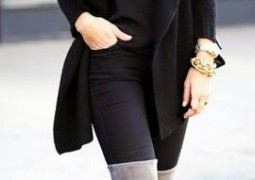 Μπότες πάνω από το γόνατο και πώς να τις φορέσετε