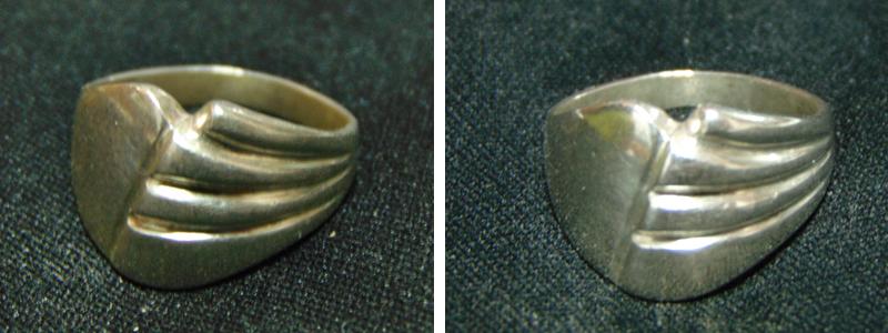 γυαλισμα δαχτυλιδιου με depon