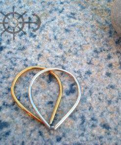 Δαχτυλίδι με διπλές σταγόνες