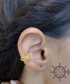 ear cuff bow