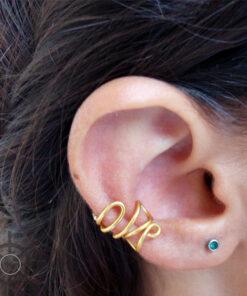 ear cuff φιδι