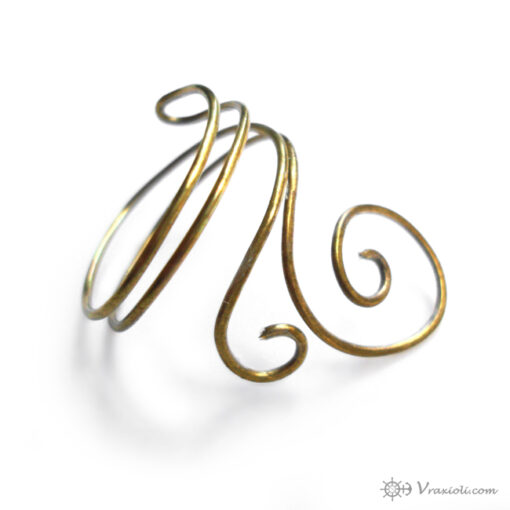 ring forged spiral