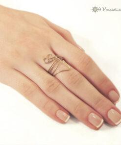 δαχτυλιδια απο συρμα