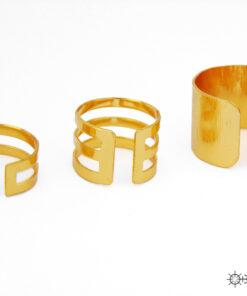 τριπλο δαχτυλιδι χρυσο