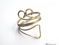 δαχτυλιδι με συρμα