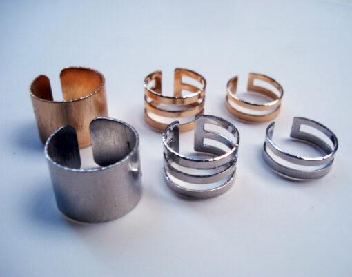 δαχτυλίδια moderna set