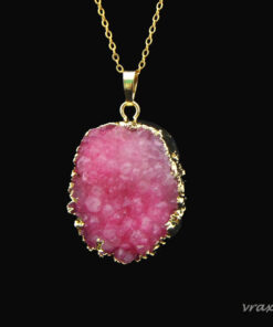 Pink Rocks necklaces