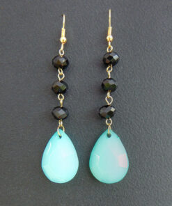 Ethnic turquoise earrings