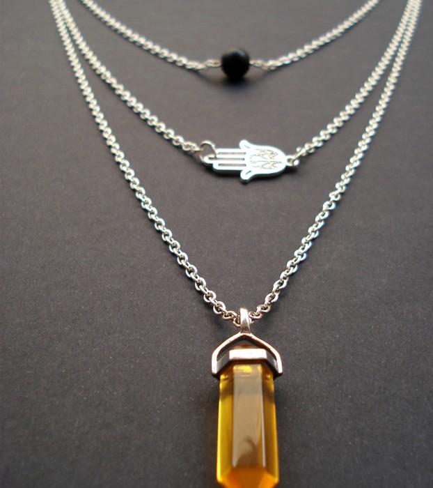 necklaces with semiprecious stones