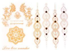 αυτοκολλητα τατουαζ live love wander