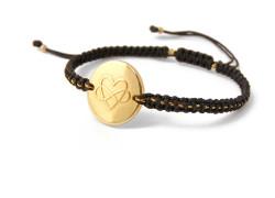Heart Bracelet Infinity
