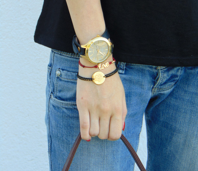 love bracelets outfits denim