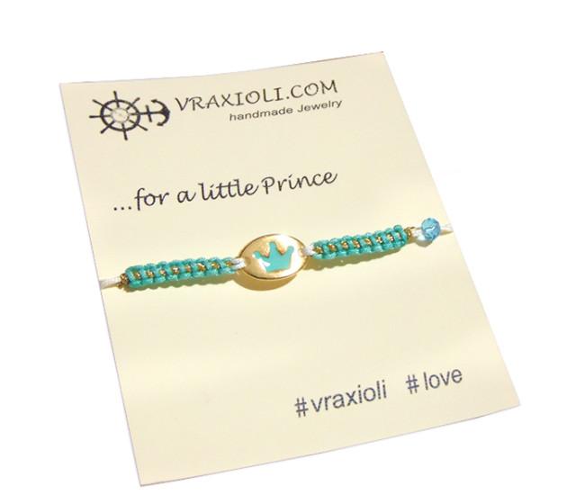 vraxioli korona Princess - paidika kosmimata