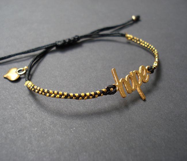bracelet hope makrame