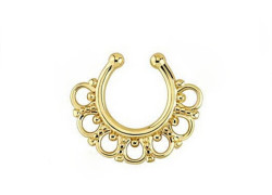 Fake rings septum