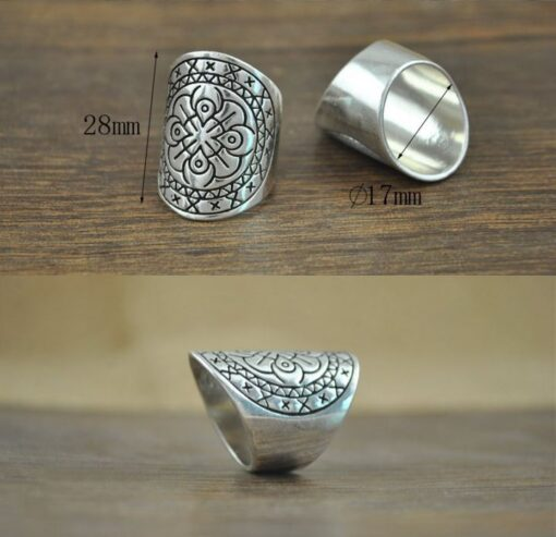 boho δαχτυλιδια ασημενια