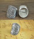 ring silver bohemian