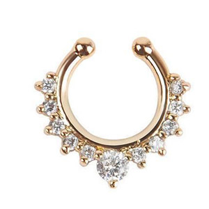 septum rings with diamonds