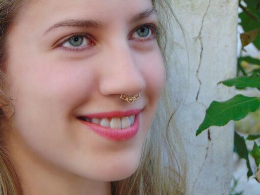 ψευτικα σκουλαρικια septum