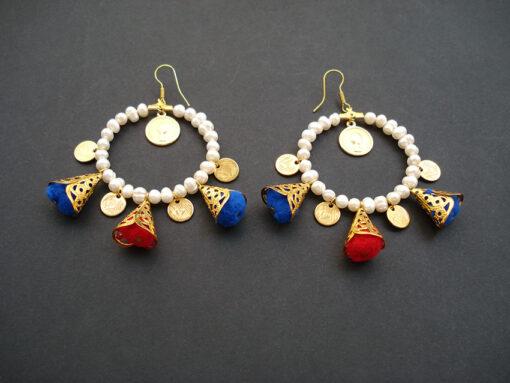 handmade summer earrings 2017