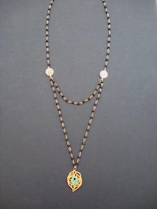 black necklace 2017