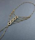 βραχιολι ποδιου boho foot slave bracelet