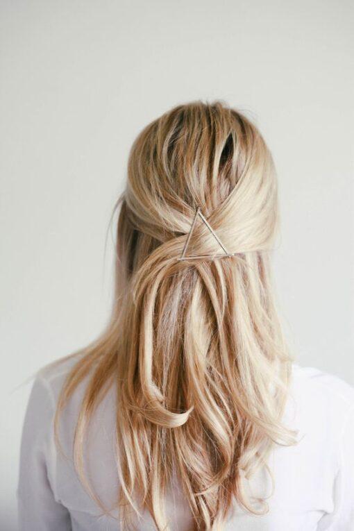 Τσιμπιδάκι κόσμημα μαλλιών τρίγωνο