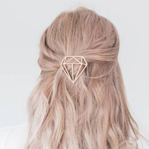 χρυσο κλιπ μαλλιων διαμαντι