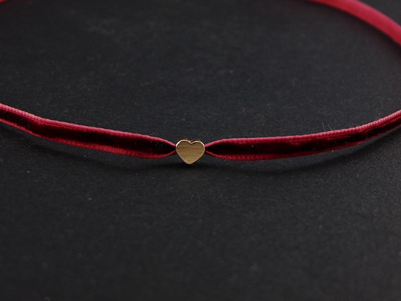 κοκκινο velvet τσοκερ καρδια