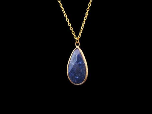 Μπλε ημιπολυτιμη πετρα