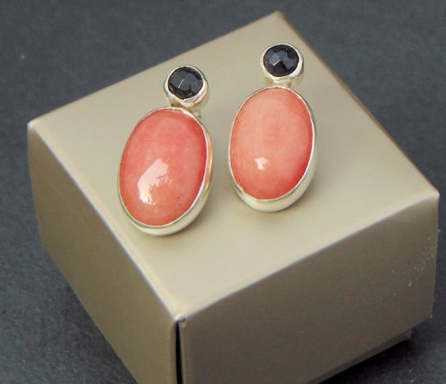 σκουλαρικια με ημιπολυτιμες πετρες