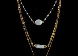 διακριτικα κοσμηματα για το λαιμο με περλες