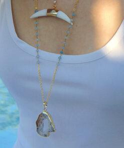 aquamarine kolie makri