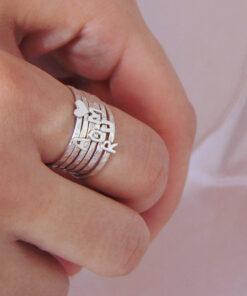 δαχτυλιδια βερακια για ολα τα δαχτυλα