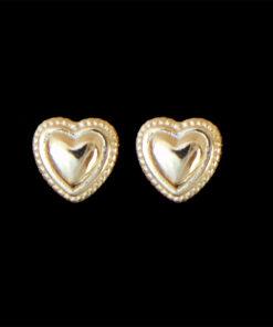 Σκουλαρίκια καρφωτά καρδιες