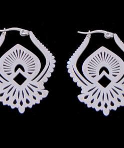 Σκουλαρίκια από ατσάλι
