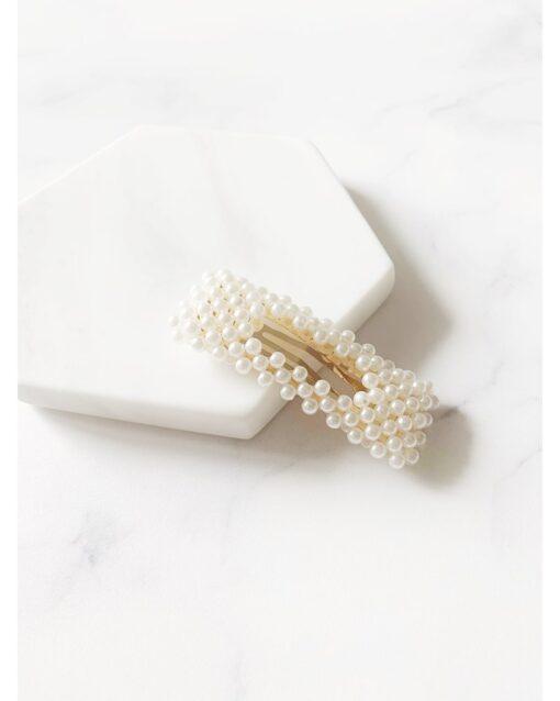 τσιμπιδακια με λευκες περλες