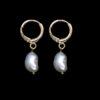 Σκουλαρίκια με πέρλες κρεμαστά