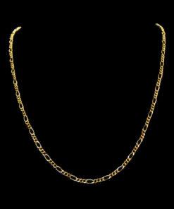 Χρυσή αλυσίδα λαιμού απλή
