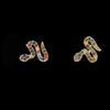 Πολύχρωμα σκουλαρίκια φίδια