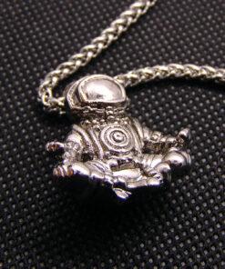 ανδρικο ατσαλινο κολιε αστροναυτης 2