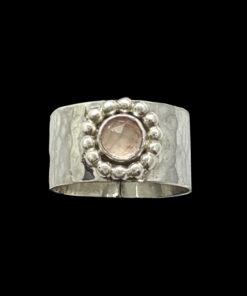 ασημένιο δαχτυλίδι σφυρηλατο