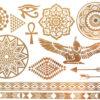 αυτοκολλητα κοσμηματα τατουαζ