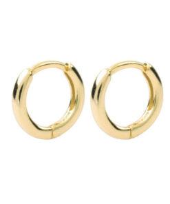 σκουλαρικια κρικοι χρυσοι